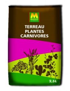 Terreau Plantes Carnivores 2.5L