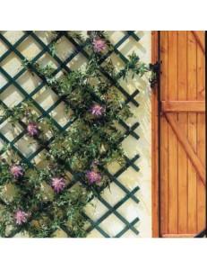 Treillage plastique vert ou blanc 0.50cm X 1.50m