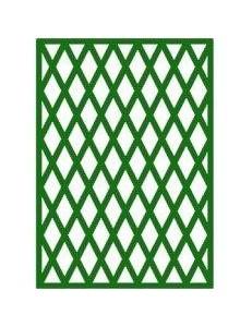 Traité vert losange